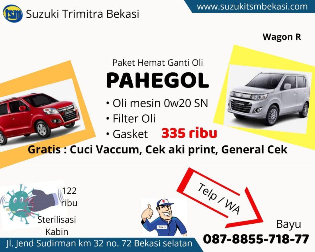 Paket Hemat Ganti Oli Suzuki TSM BEKASI OKTOBER 2020